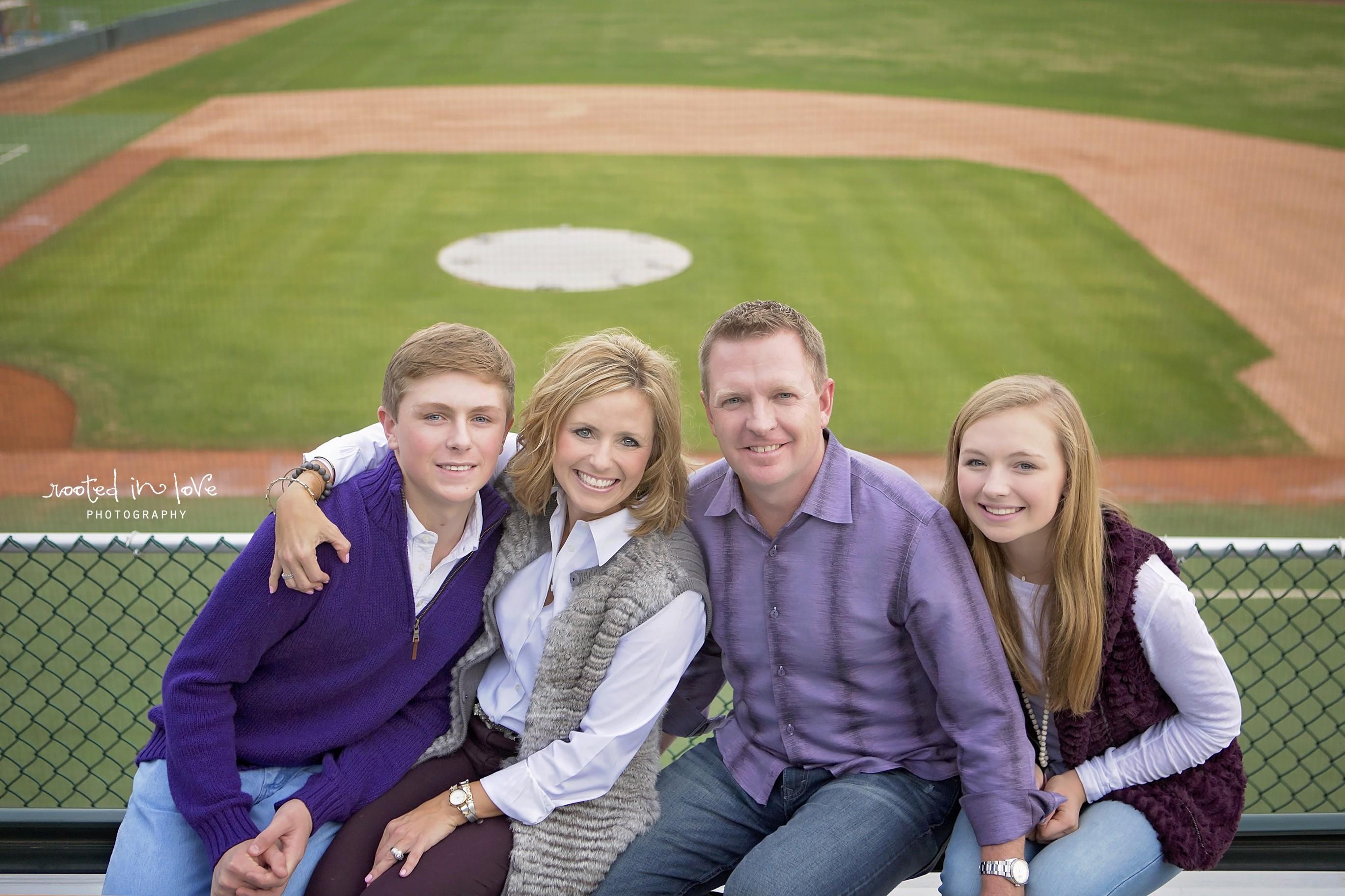 Schlossnagle's TCU family session