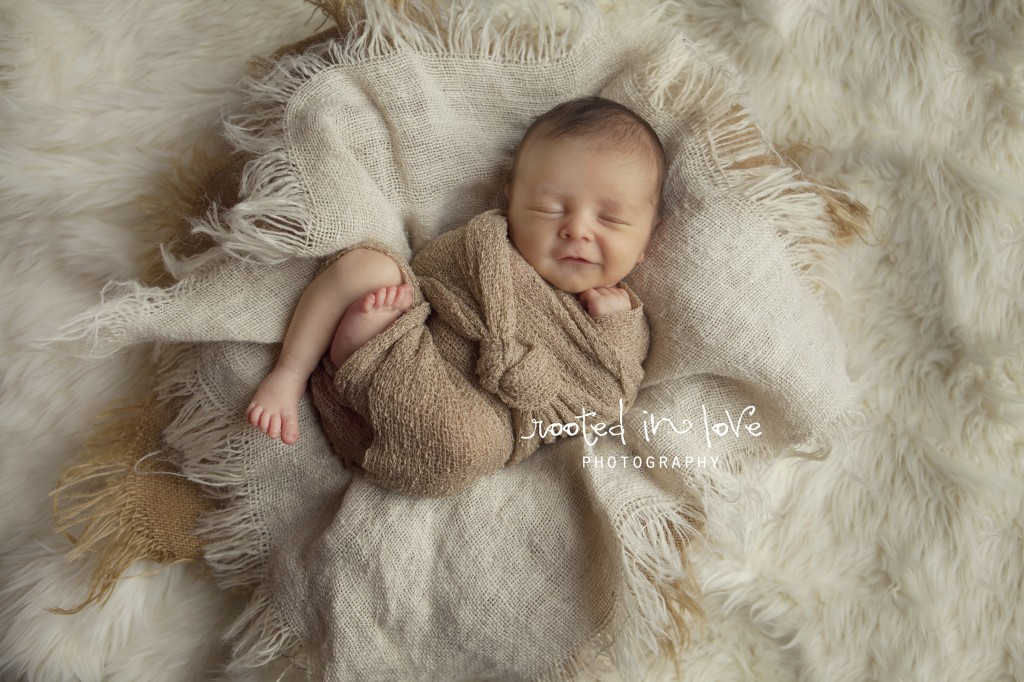 Fort Worth newborn photo session