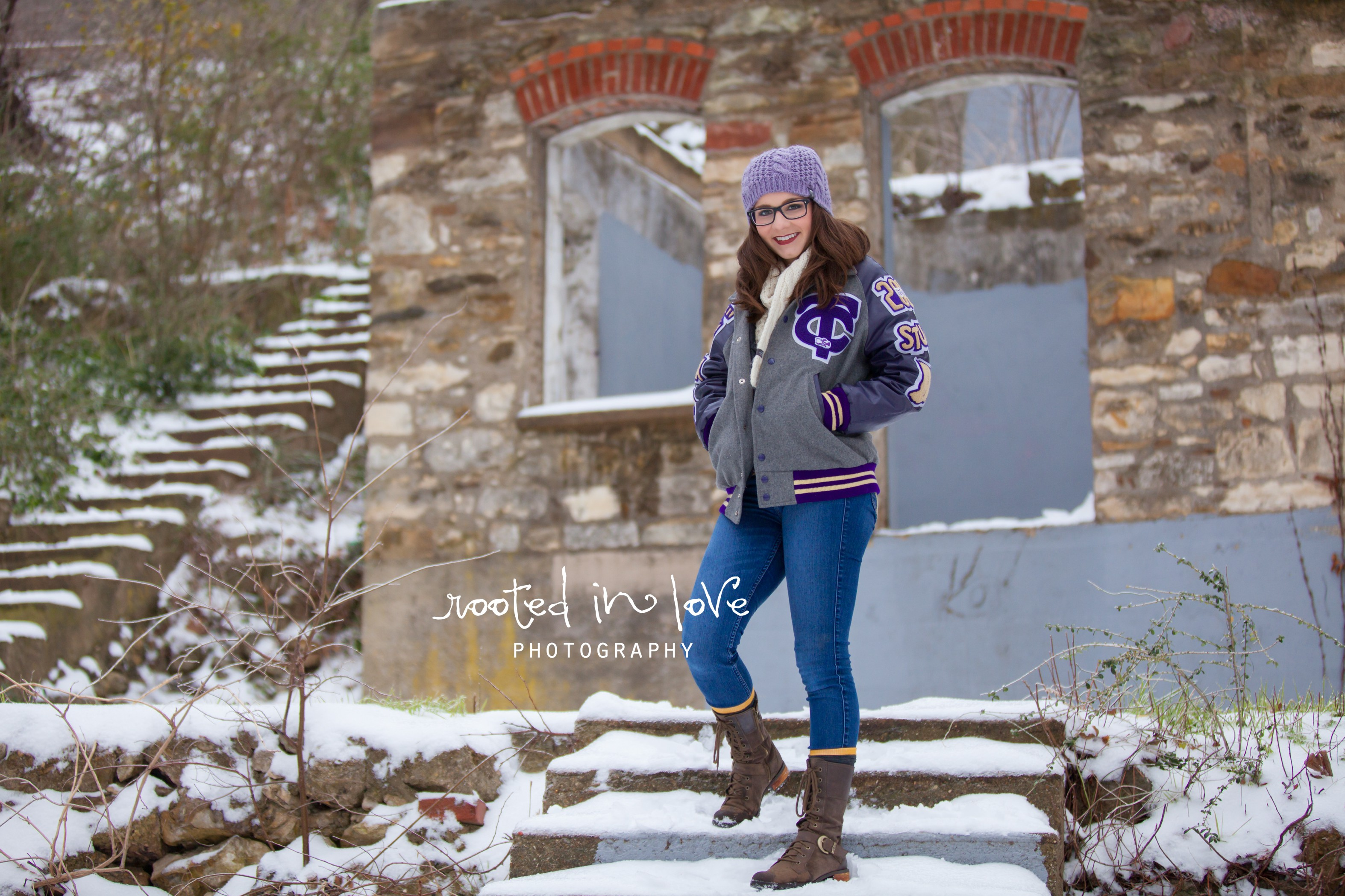 Bailey's Winter Senior Photos