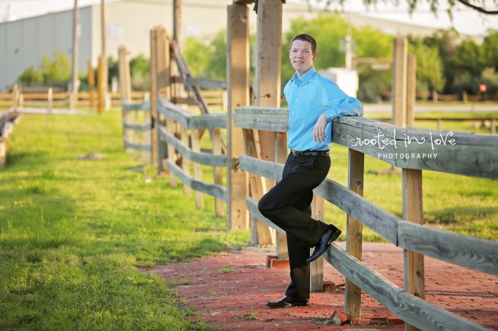 Fort Worth guy senior session