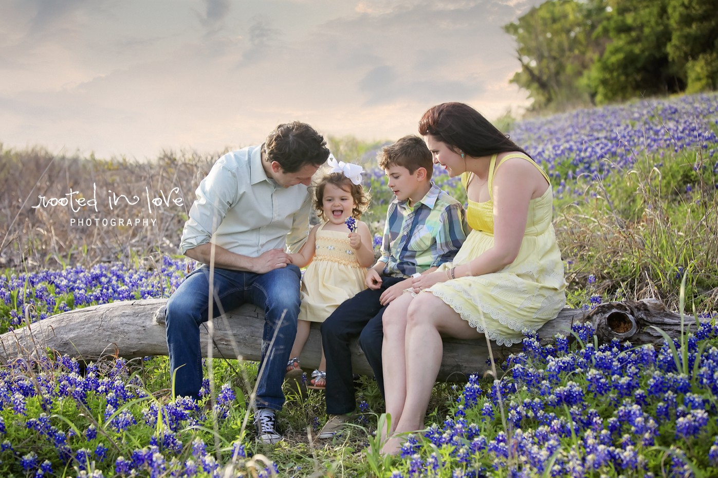 Bluebonnet mini session Day 2  Fort Worth family photographer