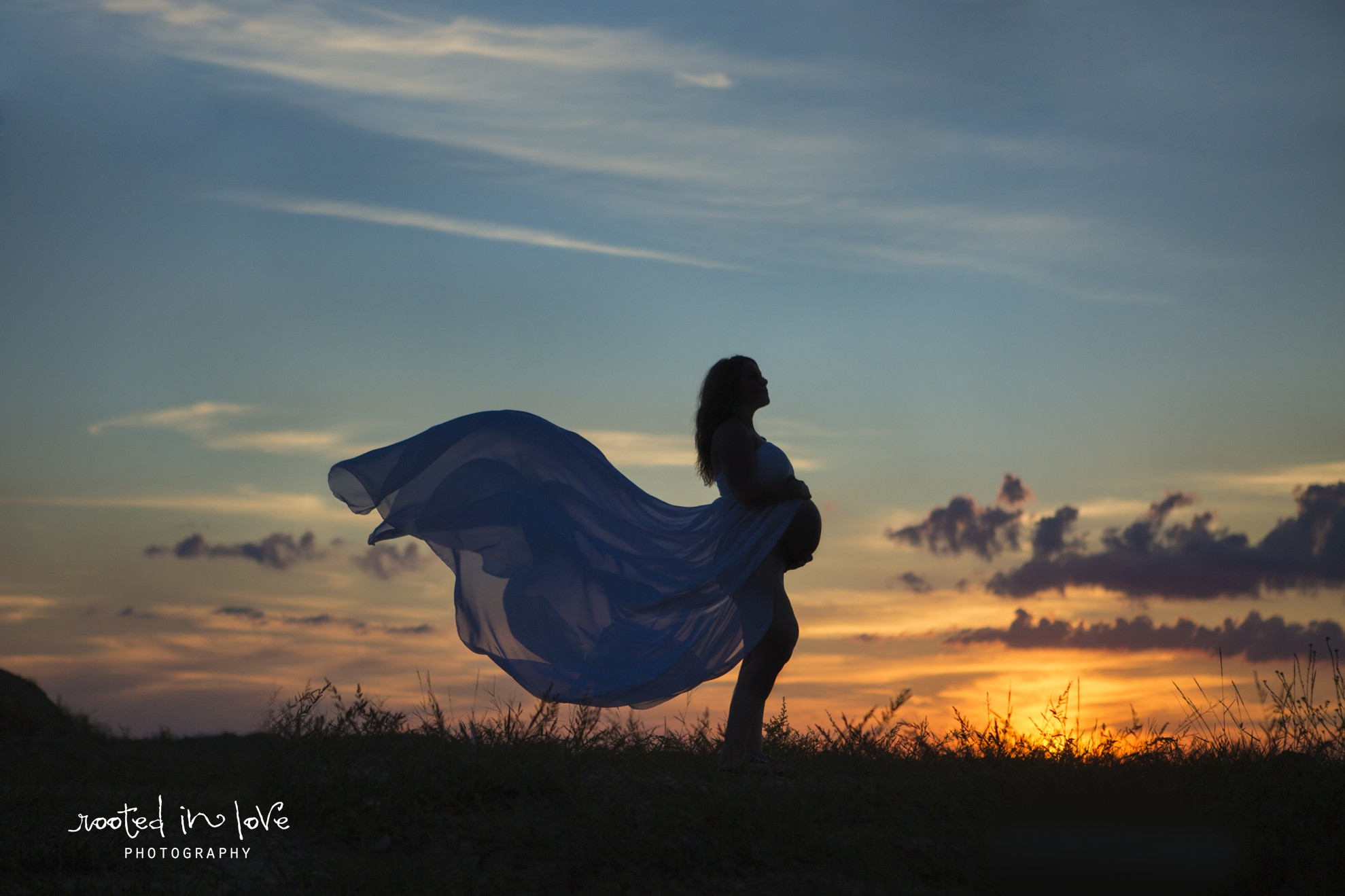 Byerley maternity session | Fort Worth maternity photographer