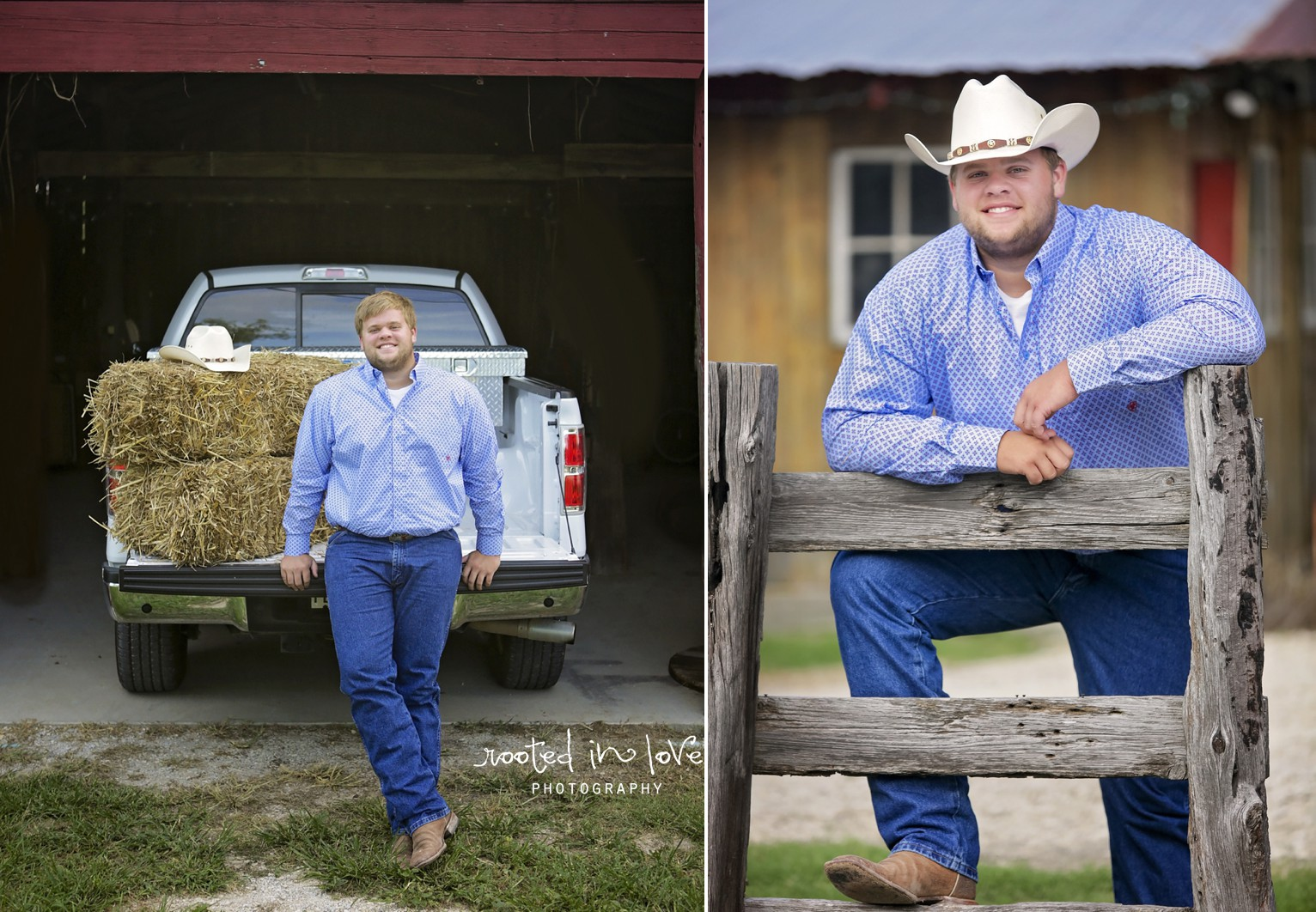 Keaton's rustic senior session | Fort Worth senior photographer