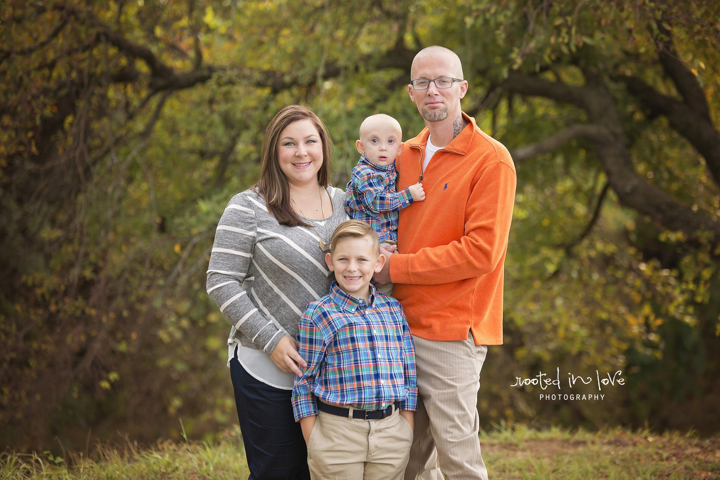 Fort Worth outdoor session   Journeay family