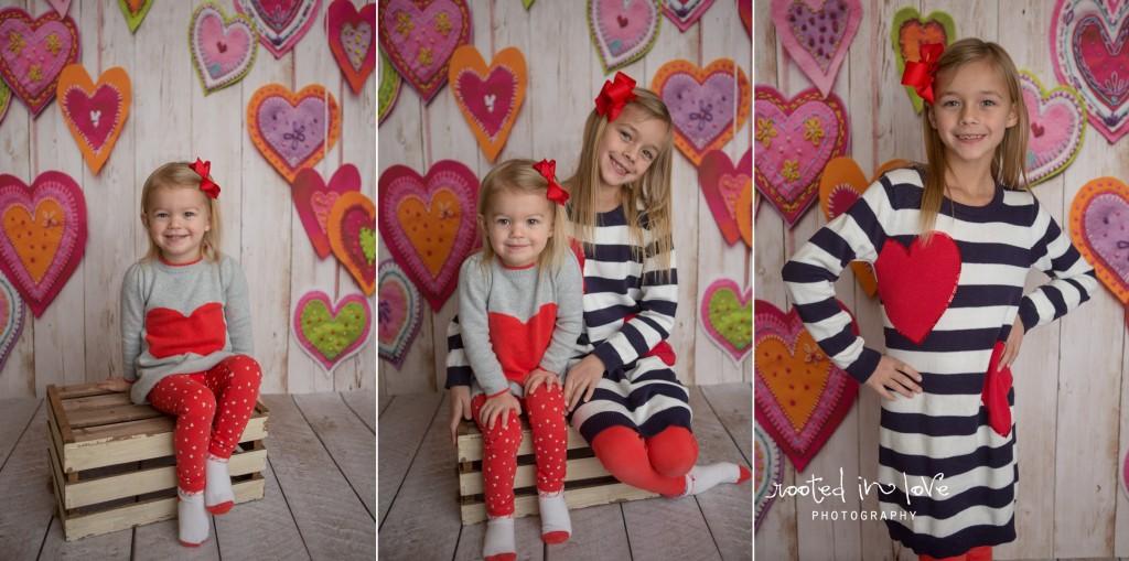 Valentine mini sessions