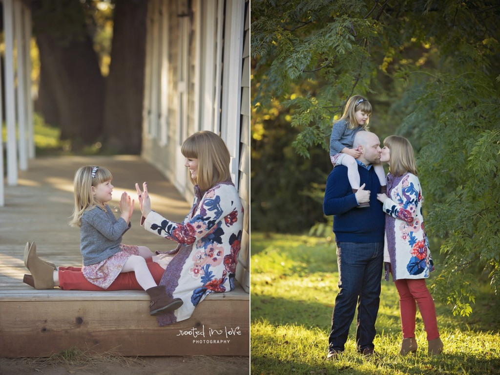 Barnett family outdoor session