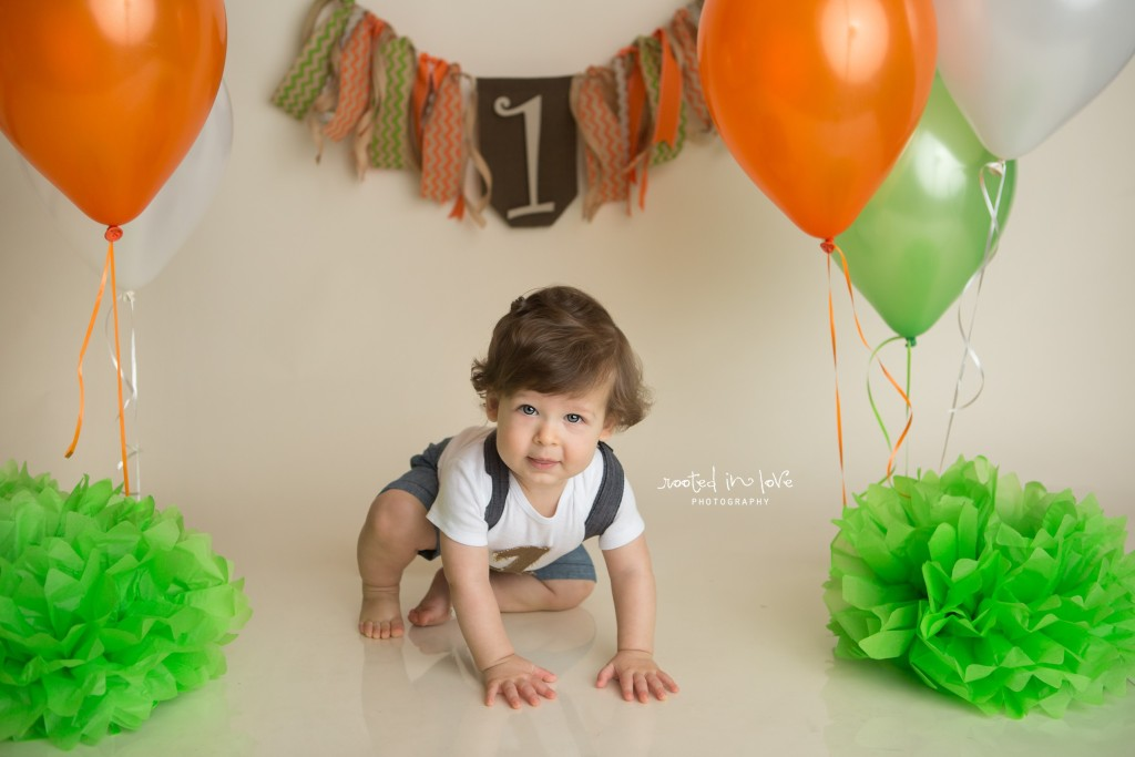 Anderson is ONE! | Fort Worth cake smash session