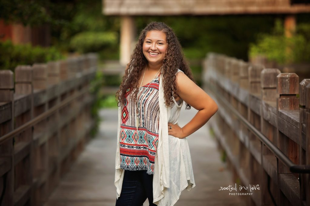 Japanese Garden senior session