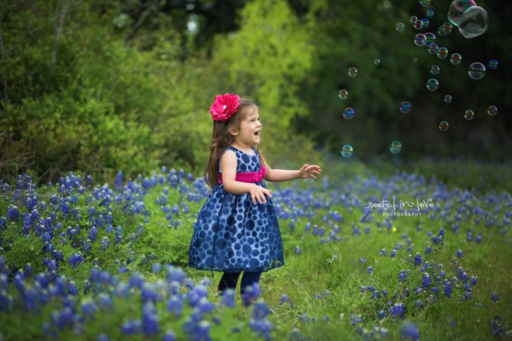 Bluebonnet mini sessions