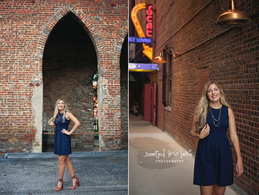 Lucy's downtown urban senior session