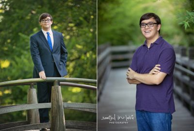 William's Japanese Garden senior session