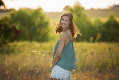 Ryleigh's home senior session