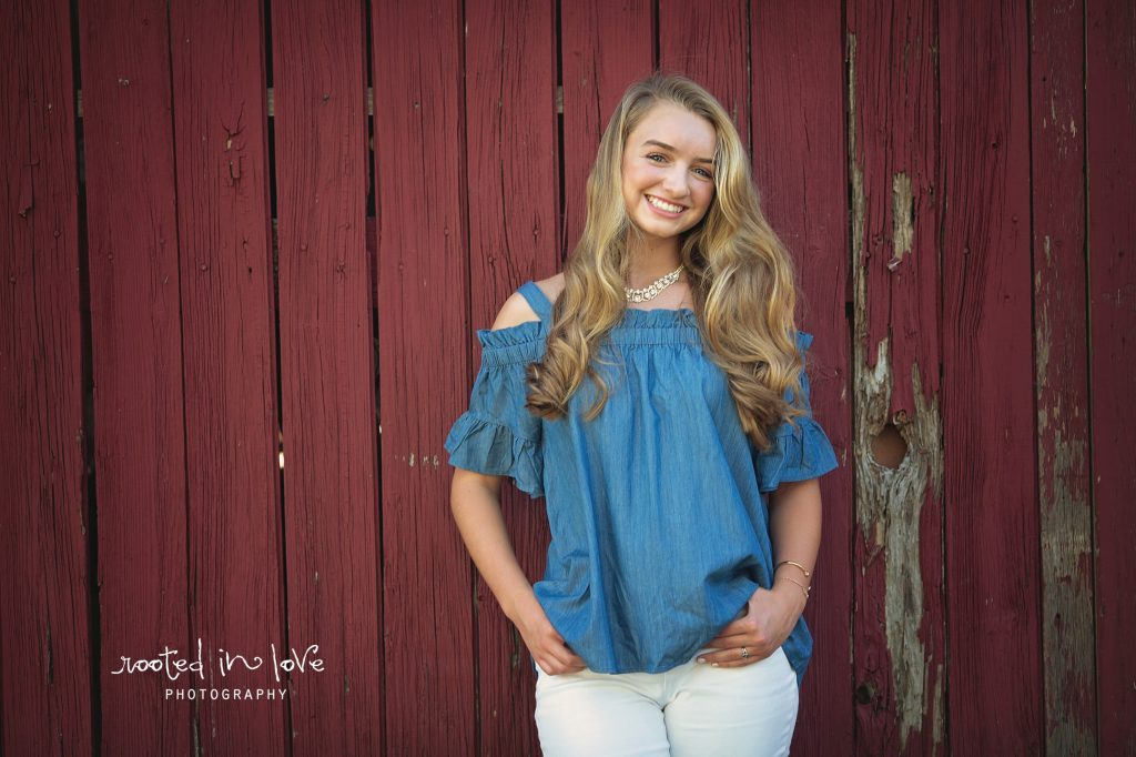 Skylar's baseball senior session