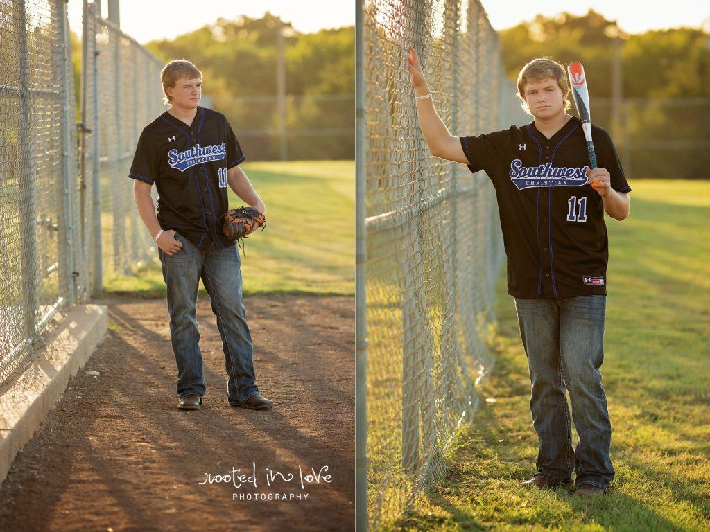 Skylar's baseball senior session