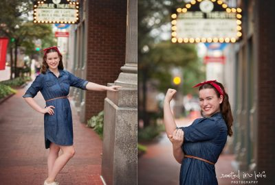 Samantha's downtown senior session