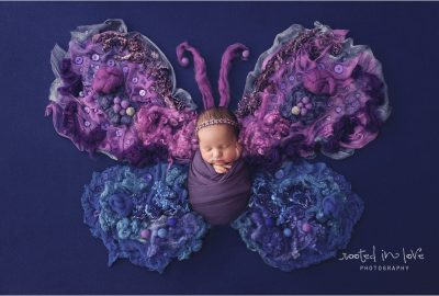 Violet's very violet newborn session